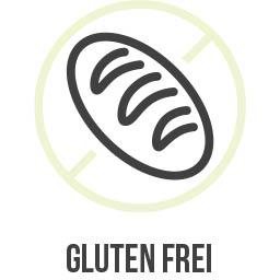 Das Produkt ist Gluten frei
