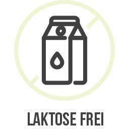 Das Produkt ist Laktose frei