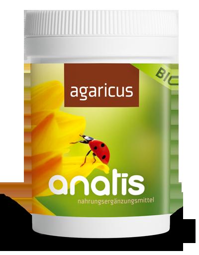 Anatis Bild Dose 2 Agaricus 400px